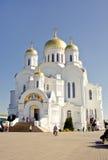 La Russie, Diveevo, cathédrale de transfiguration dans le monastère de séraphin-Diveevo de trinité sainte, churchs Photo stock