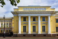 La Russie Le palais de Mikhailovsky St Petersburg Photographie stock libre de droits