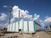 LA RUSSIE, NADYM - 6 JUIN 2011 : Orporation GAZPROM de ¡ de Ð dans Novy Ureng Photographie stock libre de droits