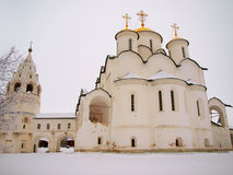 La Russie orthodoxe. Cathédrale antique dans un Pokrovskiy Images libres de droits