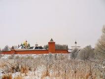 La Russie orthodoxe. Murs monastiques Photographie stock
