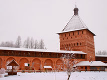 La Russie orthodoxe. Murs monastiques Image stock