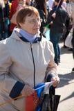 LA RUSSIE, PENZA - 1ER MAI : Démonstration de jour de mai Photo stock
