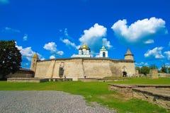 La Russie, Pskov Pskov Krom, ou Pskov Kremlin, et cathédrale de trinité Photos stock