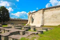 La Russie, Pskov Pskov Krom, ou Pskov Kremlin et Daumantas, ou Dovmont, ville Photo stock