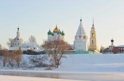 La Russie. Région de Moscou. Ensemble de Kolomna Kremlin Images stock