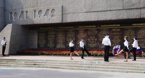 LA RUSSIE, SÉBASTOPOL - SEPTEMBRE 18,2014 : Mémorial de la défense héroïque de Sébastopol 1941-1942 ans Photographie stock