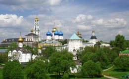 La Russie. Sergiev Posad. Lauriers Photo stock