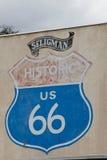 La ruta 66 Fotos de archivo libres de regalías