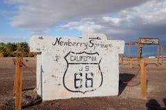 La ruta 66 Fotografía de archivo libre de regalías