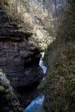 La ruta famosa a través de las montañas fotografía de archivo libre de regalías