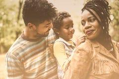 La sécurité est avec les parents photographie stock libre de droits