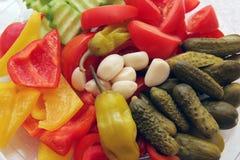 La sélection des légumes. Photographie stock