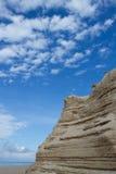La sabbia che è sovrapposta Fotografie Stock