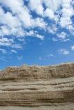 La sabbia che è sovrapposta Immagini Stock