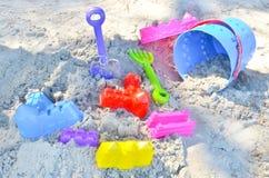 La sabbia della sfuocatura gioca gli ambiti di provenienza Fotografia Stock Libera da Diritti