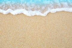 La sabbia della spiaggia Fotografia Stock Libera da Diritti