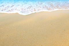 La sabbia della spiaggia Fotografie Stock