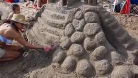 La sabbia 2014 di Coney Island che scolpisce concorso 24 Fotografia Stock
