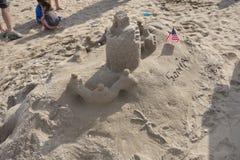 La sabbia 2014 di Coney Island che scolpisce concorso 52 Fotografia Stock
