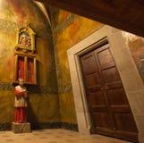 La sacristía del santuario de Gleva del La Fotografía de archivo