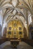 La sacristía principal de la catedral de Cuenca, estilo del transitio Fotografía de archivo libre de regalías