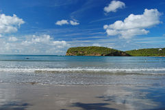 La Sagesse beach on Grenada Island Stock Photo