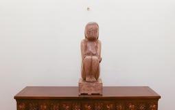 «La sagesse de la terre» par le sculpteur roumain Constantin Brancusi Image libre de droits