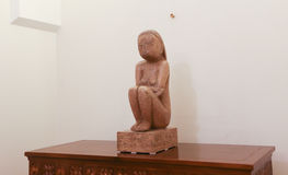 """""""La saggezza della terra"""" dallo scultore rumeno Constantin Brancusi Fotografia Stock"""