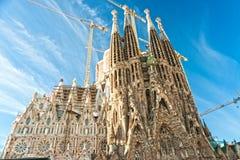 la sagrada Испания familia barcelona Стоковое Фото