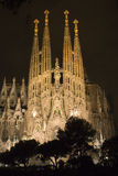 La sagrada de gaudi de familia de Barcelone Photos libres de droits