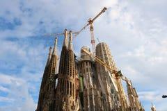 La Sagrada Família in June 2018 royalty free stock photography