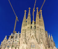 La Sagrada Famila Royalty Free Stock Image