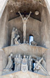 La Sagrada Famila Church Barcelona Spain Royalty Free Stock Image