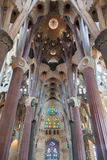 La Sagrada Famila Church Barcelona Spain Stock Photography