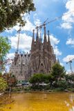 La Sagrada Familia Image stock
