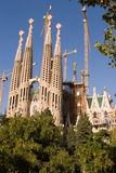 La Sagrada Familia Fotografía de archivo libre de regalías