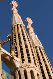 La Sagrada Familia Stock Photography
