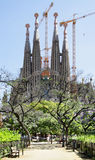 La Sagrada Familia Royalty Free Stock Image