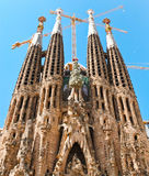 La Sagrada Familia Stock Photos
