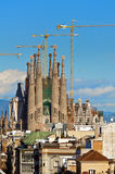 La Sagrada Familia Stock Photo