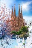 La Sagrada Familia 图库摄影