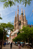 La Sagrada Familia 2013 Imagen de archivo libre de regalías