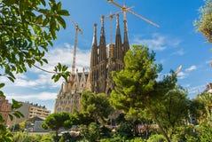 La Sagrada Familia Lizenzfreies Stockfoto
