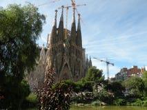 La Sagrada Familia Lizenzfreie Stockbilder