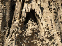 La Sagrada Familia Royalty Free Stock Photos