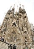La Sagrada Familia by Antoni Gaudi. Stock Photography