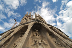 La Sagrada Familia, Barcelona Royalty Free Stock Photos