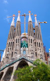 La Sagrada Familia in Barcelona Royalty Free Stock Photo