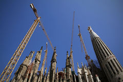La sagrada familia Barcelona Royalty Free Stock Photography